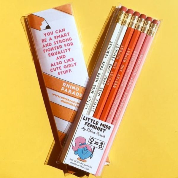 Little Miss Feminist Pencils