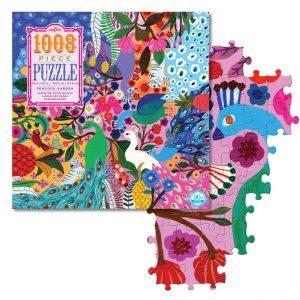 Peacock Garden Family Puzzle